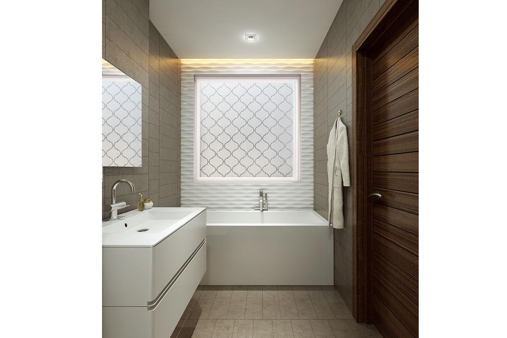 Hy lite a u s block windows company for Baroque style bathroom